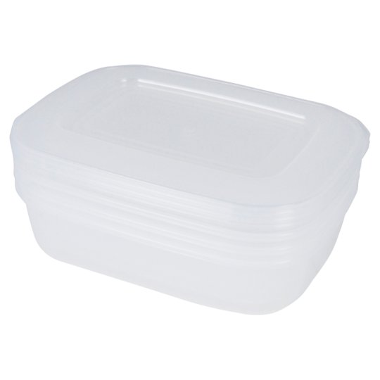 Tesco Basics Foodsavers 3 Pack 1L
