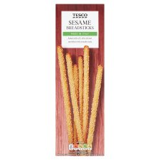 Tesco Sesame Breadsticks 125G
