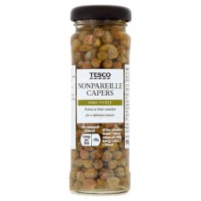 Tesco Ingredients Capers In Brine 99G