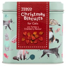 Tesco Turkey And Cranberry Cat Treats 200G