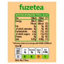 image 3 of Fuze Tea Mango &Chamomile Iced Tea 4X400ml