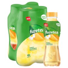 image 1 of Fuze Tea Mango &Chamomile Iced Tea 4X400ml