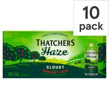 Thatchers Haze Cider 10X440ml Can