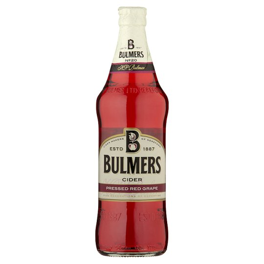 Bulmers Pressed Red Grape 568Ml