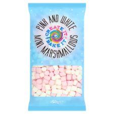 Create It Pink And White Marshmallow 150G