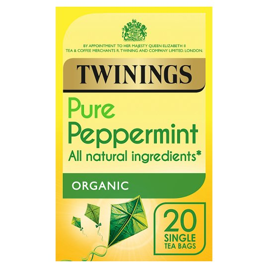 Twinings Organic Peppermint 20 Teabags 40G