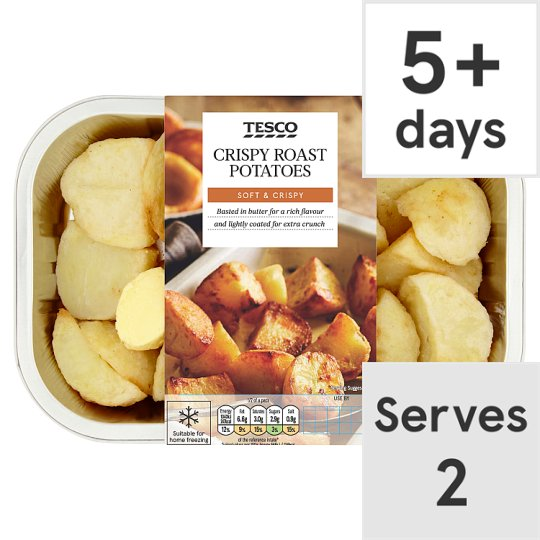 Tesco Crispy Roast Potatoes 450G