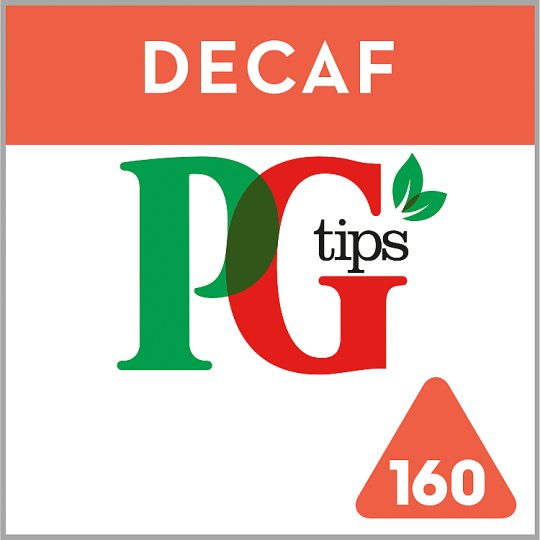 Pg Tips Pyramid Decaffeinated 160S Tea Bags 464G