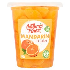Nature's Finest Mandarin In Juice 390G