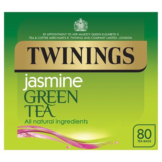 Twinings Green Tea Jasmine 80 Tea Bags 200G