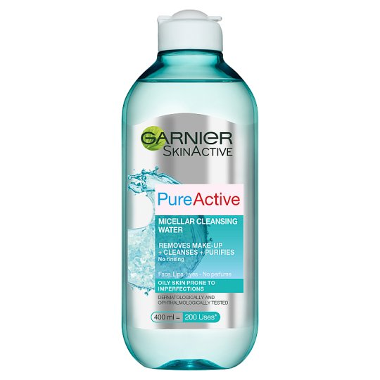 image 1 of Pure Active Micellar Water Oily Skin 400Ml