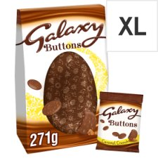 Galaxy Milk Chocolate Egg With Caramel Buttons 271G