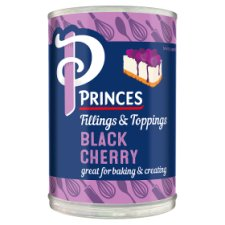 Princes Black Cherry Fruit Filling 410G
