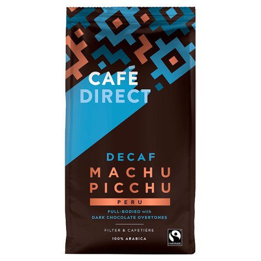 Cafedirect Decaffeinated Machu Picchu Ground Coffee 227G
