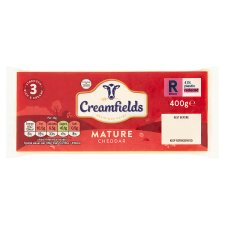 Creamfields Mature White Cheddar 400G