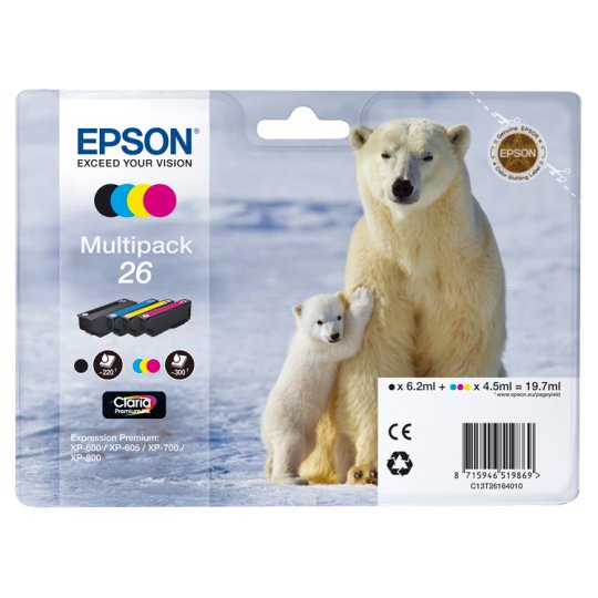 Epson 26 Polar Bear Multipack