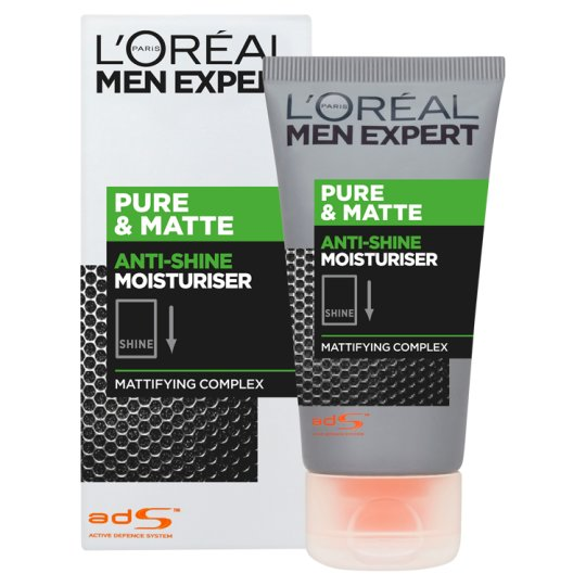 Loreal Men 50Ml Pure And Matte Moisturising Gel