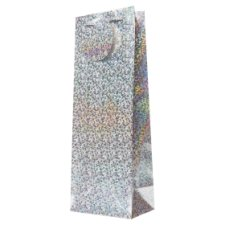 Tesco Holographic Bottle Bag