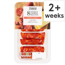 Tesco Rollitos Chorizo And Gouda 88G