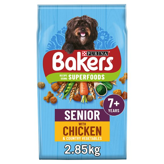 image 1 of Bakers Senior Dog Food Chicken And Vegetable 2.85Kg