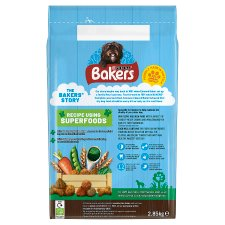 image 2 of Bakers Senior Dog Food Chicken And Vegetable 2.85Kg