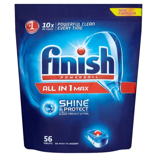 Finish All In 1 Original 56 Dishwasher Tablets Groceries