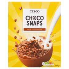 Tesco Choco Snaps Cereal 350G