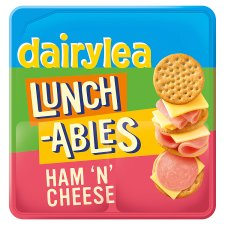 Dairylea Lunchables Ham And Cheese Crackers 83.4G