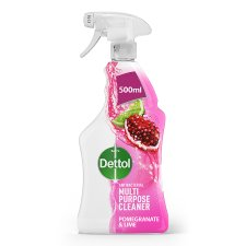 Dettol Power And Fresh Spray Cleaner Pomegranate 500 Ml