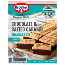 Dr Oetker Chocolate Salted Caramel Tray Kit 425G