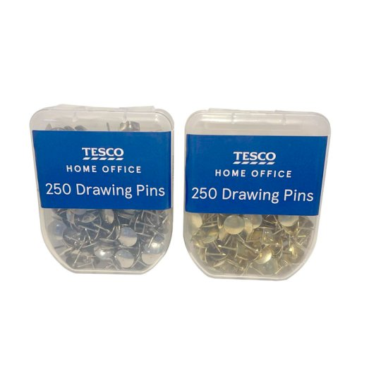 Tesco Drawing Pins