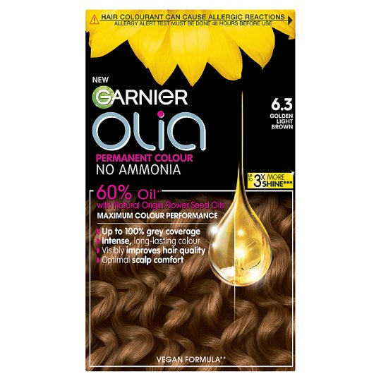 image 1 of Garnier Olia 6.3 Golden Light Brown Permanent Hair Dye