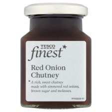 Tesco Finest Red Onion Chutney 230G