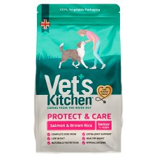 Vet's Kitchen Salmon And Rice Dry Senior Dog Food 3Kg