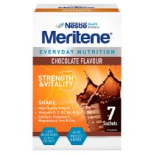 Meritene Strength And Vitality Chocolate Shake 7X30g