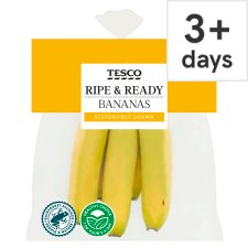 Tesco Ripe Bananas 5 Pack
