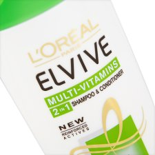 L'oreal Paris Elvive 2-In-1 Shampoo And Conditioner 400Ml