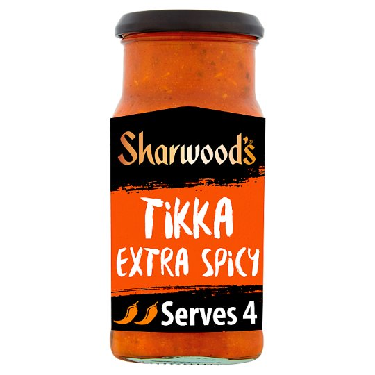 Sharwoods Spicy Tikka Masala Medium Hot Sauce 420G