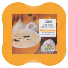 Tesco Cream Of Chicken Soup 4 X 400G