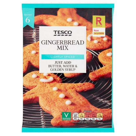 Tesco Gingerbread Mix 225G