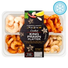 Tesco King Prawn Platter 415G