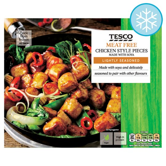 Tesco Meat Free Chicken Style Pieces 300G