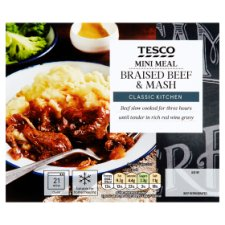 Tesco Mini Meals Braised Beef And Mash 250G