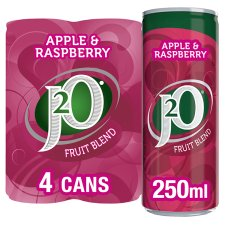 J2o Apple And Raspberry 4X250ml