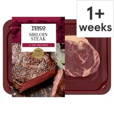 Tesco Sirloin Steak 227G