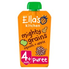 Ella's Kitchen Butternut Squash Apple Plus Quinoa 120G