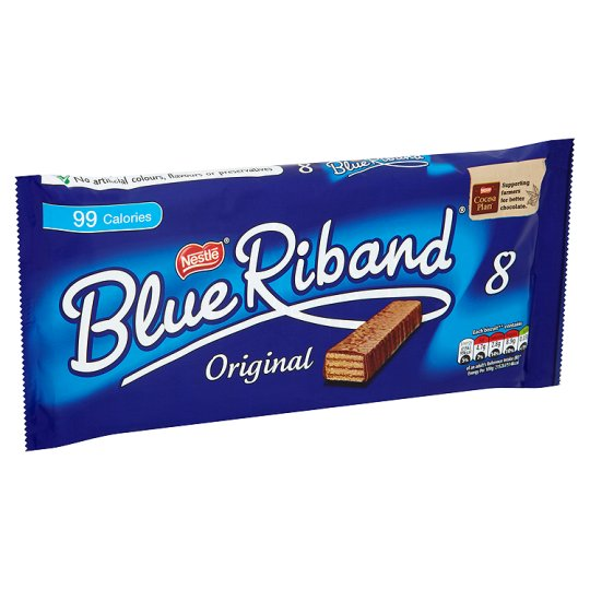 image 1 of Blue Riband Biscuit 8 Pack 154.4G