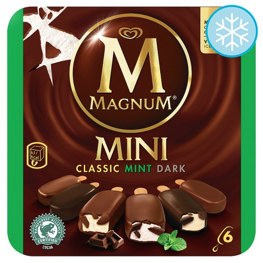 Magnum Mini Classic Dark Mint Ice Cream 6 X 60Ml