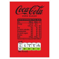 image 3 of Coke Zero 4X250ml