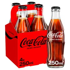 image 1 of Coke Zero 4X250ml